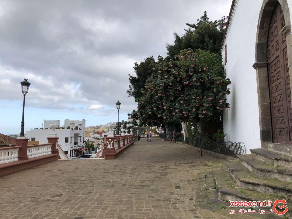 مسیر پیاده روی روستای Icod de los vinos