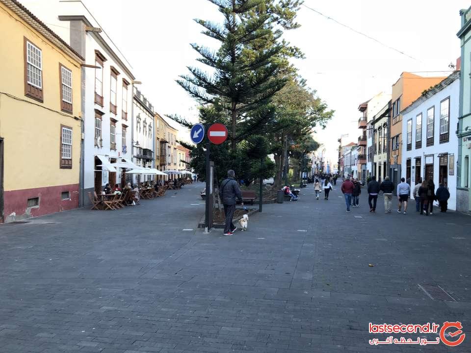 خیابانهای شهر La laguna