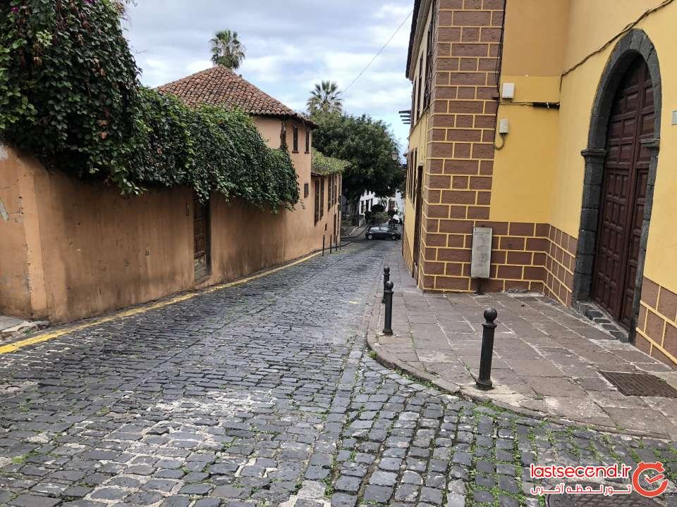خیابانهای روستای Icod de los vinos