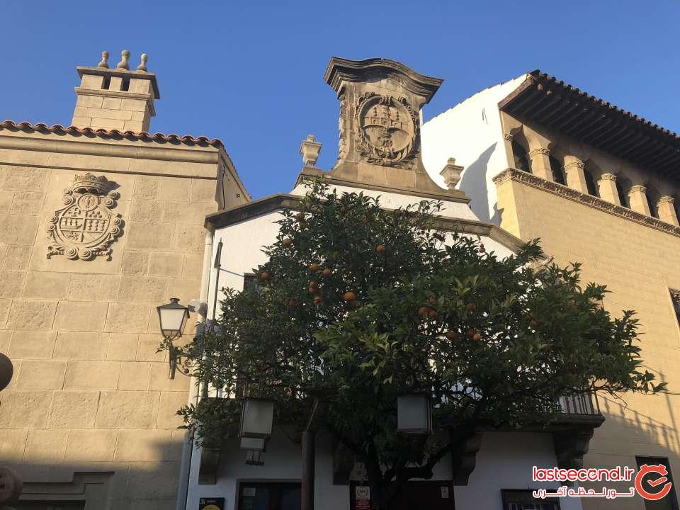 دهکده اسپانیایی ها