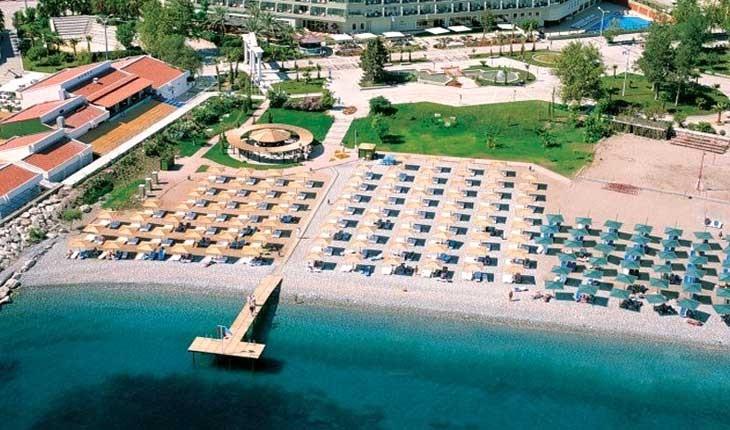تورکیز پالمت مارینا ، هتلی با ساحل اختصاصی در کمر آنتالیا