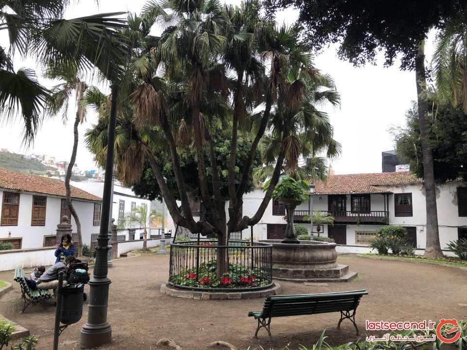 یکی از میدانهای روستای Icod de los vinos