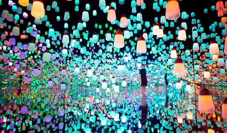موزه جدید هنر در توکیو شما را به دنیای شگفت انگیز هنر دیجیتال می برد