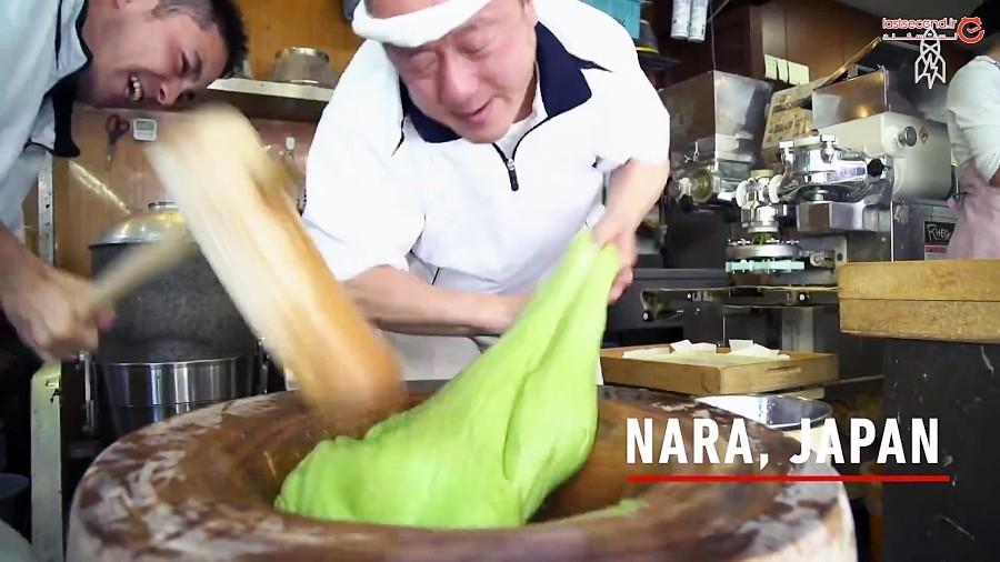 موچی، خطرناک ترین غذای سنتی ژاپنی