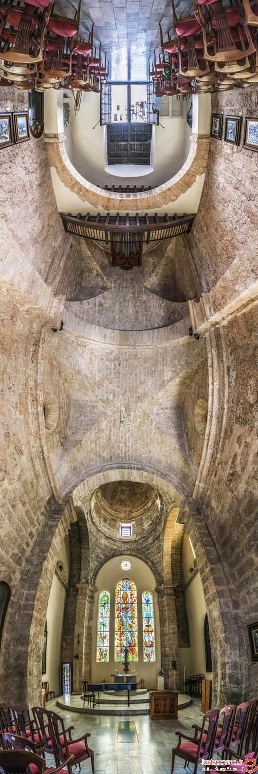 تصاویر خارق العاده پانورامیک از زیباترین کلیساهای جهان 