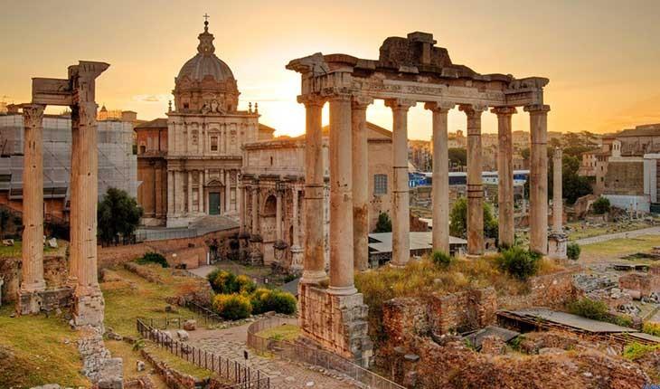چهار چشم انداز زیبا و تماشایی در رم