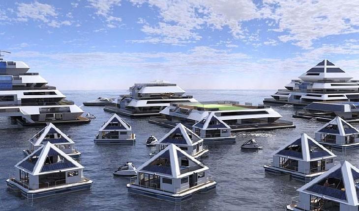 آیا شما حاضرید در یک شهر شناور هرمی شکل زندگی کنید؟