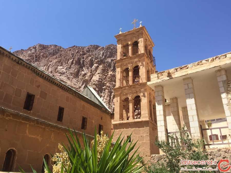 صومعه سنت کاترین و قدیمی ترین کتابخانه در جهان