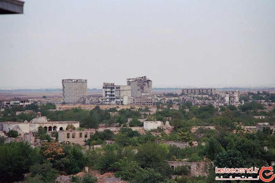 اگدم ، آذربایجان: شهر ارواح جنگ