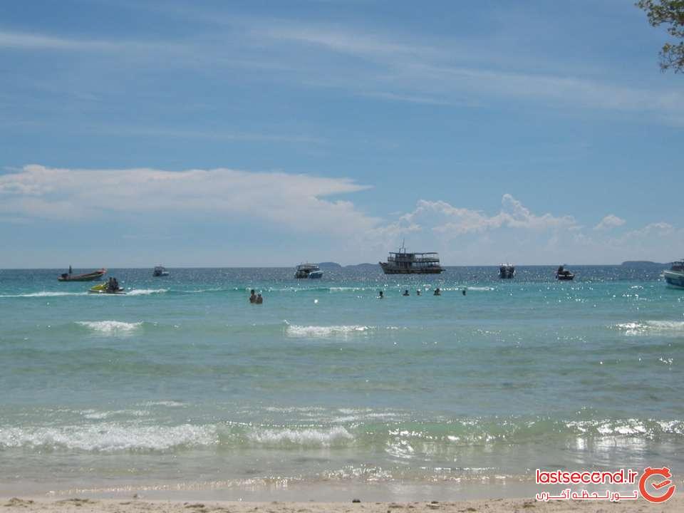 ساحل جزیره مرجان پاتایا