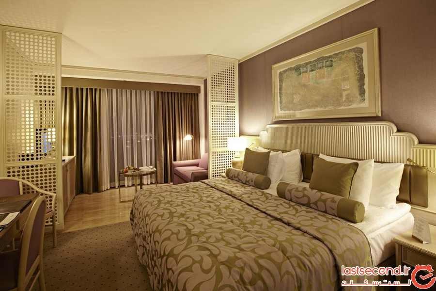 هتل ریگسون، در میان پارک فرهنگی آتاتورک