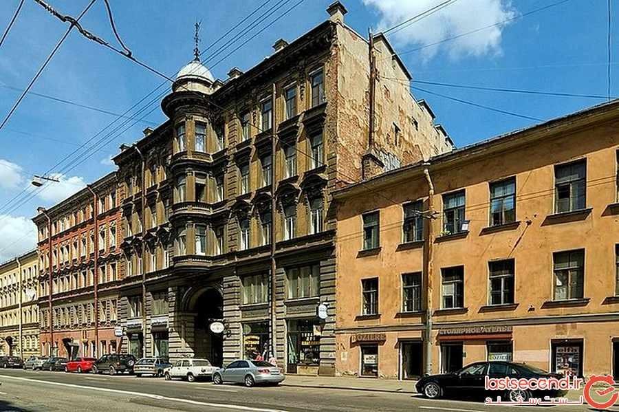 متروکه ترین نقاط در سن پترزبورگ