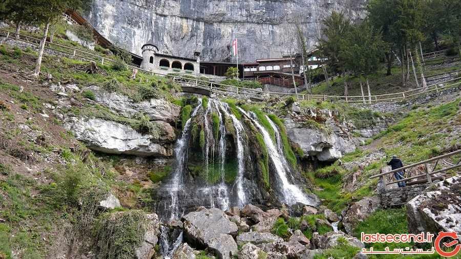 غارهای سنت بیتوس در سوییس