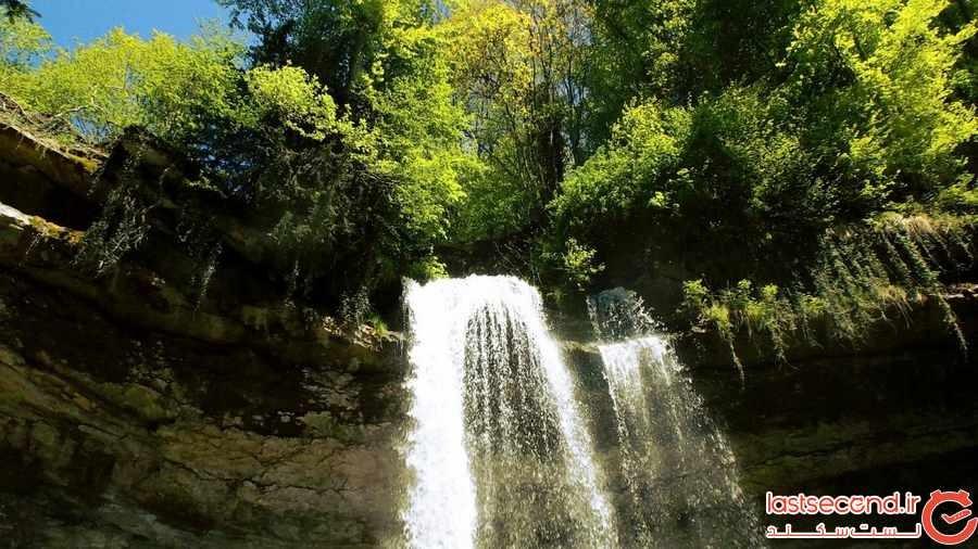 آبشار نوزون سوییس