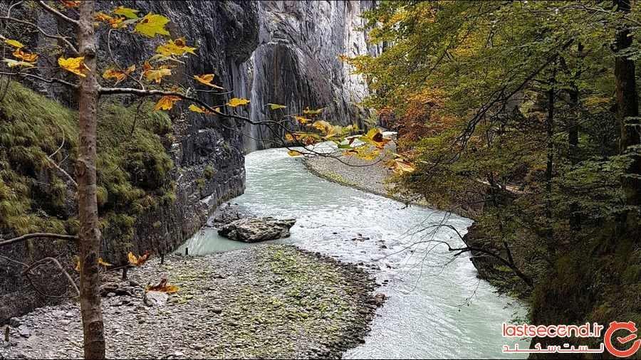 دره ای ناشناخته در سوییس