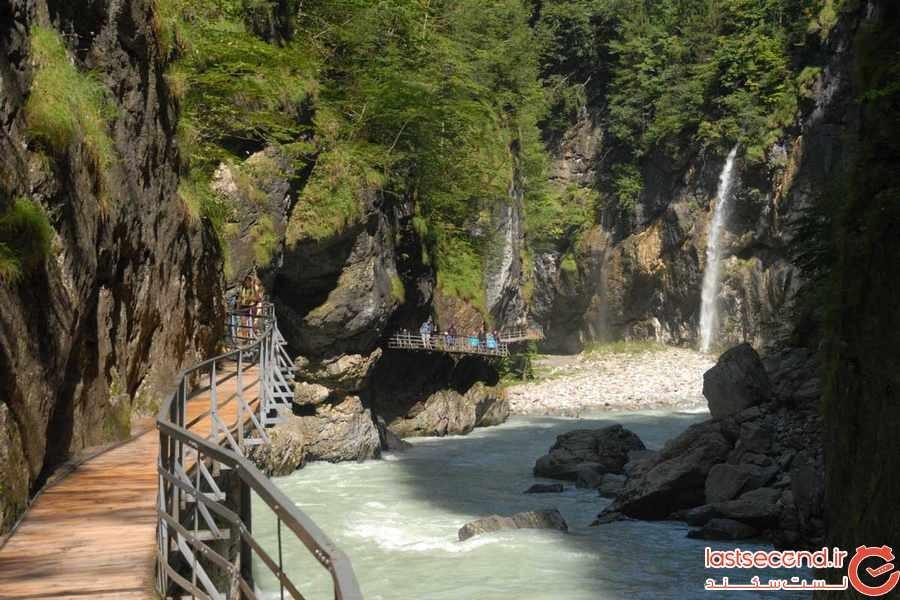 دره Aare در سوییس