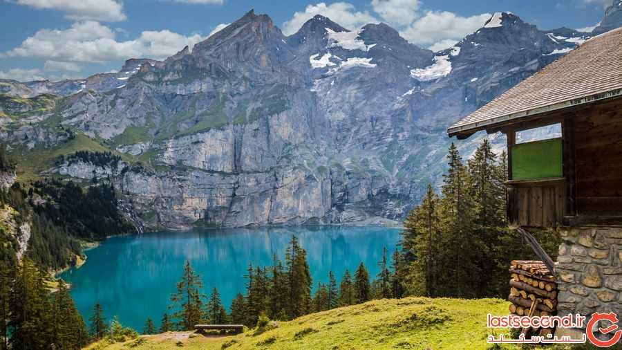 دریاچه اوشیننسی در سوییس