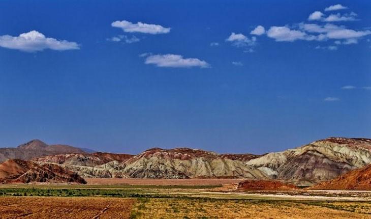 گنبد نمکی خواجه، قله ای رنگارنگ در آذربایجان شرقی 