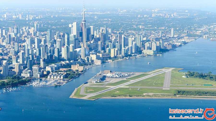 کوتاه ترین پرواز تجاری به طور منظم در شمال امریکا