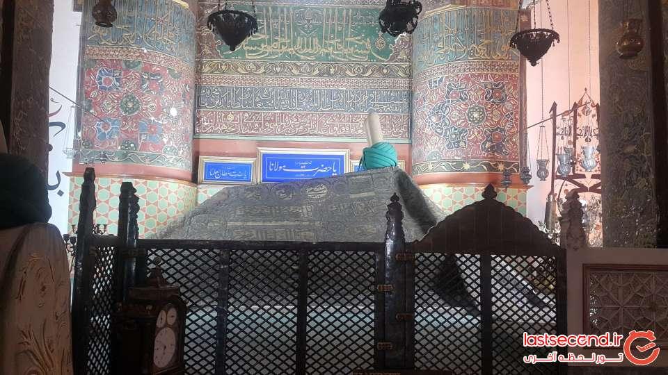مقبره مولانا در قونیه