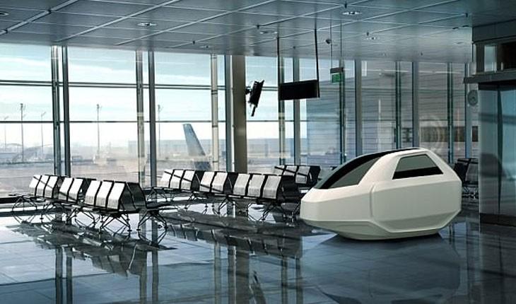 استراحت در فرودگاه با کپسول های جدید طراحی شده!