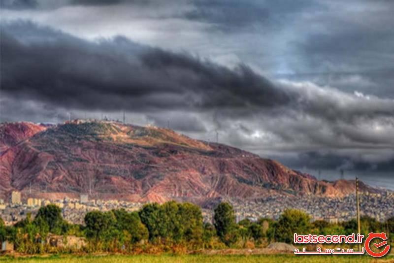 کوهستان عینالی، بزرگترین تفرجگاه در تبریز