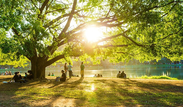 زیباترین پارک ها و فضای سبز در بلگراد