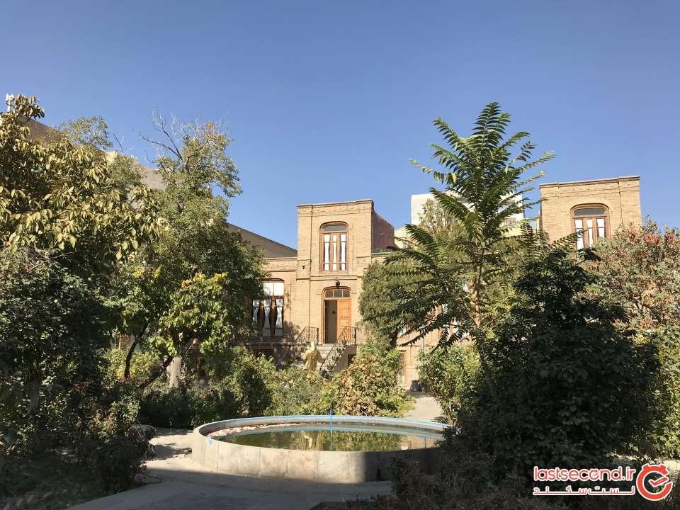 خانه پروین اعتصامی در تبریز