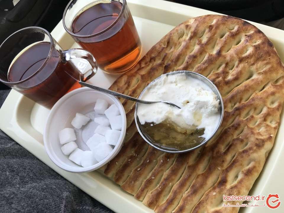صبحانه در تبریز