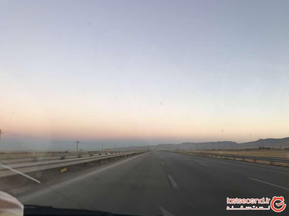 مسیر تهران به تبریز
