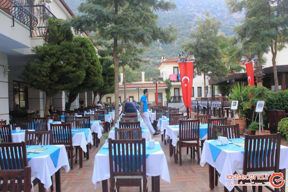 رستوران هتل در اولودنیز