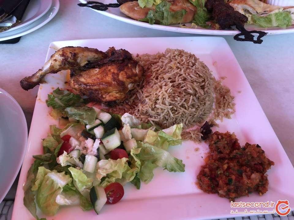 غذا در بالی