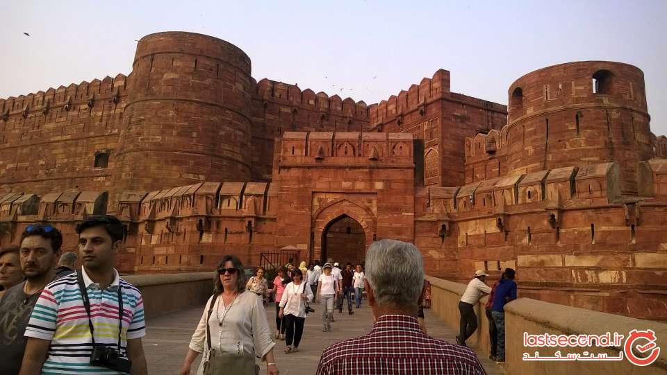 کاخ جهانگیر در قلعه آگرا