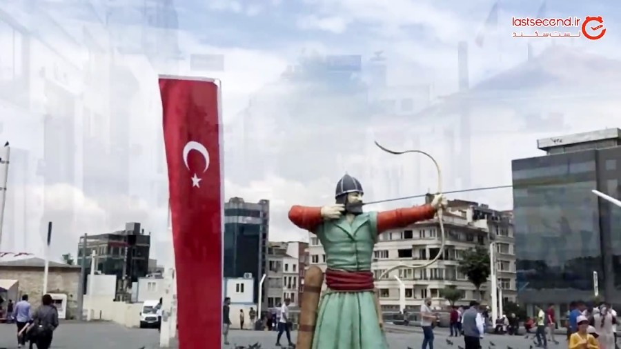ویدئوی یک دقیقه ای استانبول