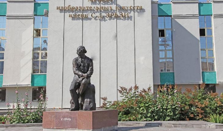 موزه هنرهای تجسمی شهر سارانسک در روسیه