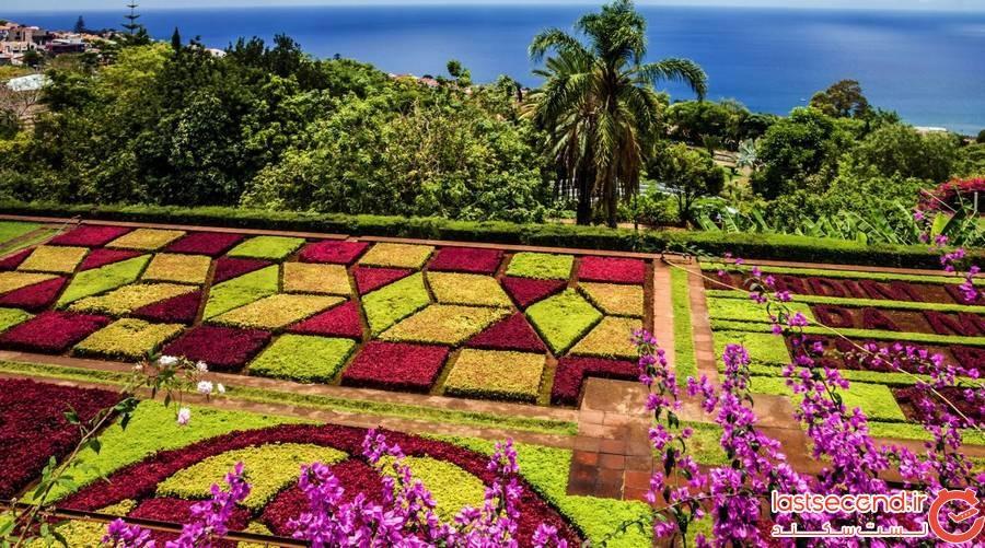 باغ گیاهشناسی مدیرا (Madeira Botanical Garden)