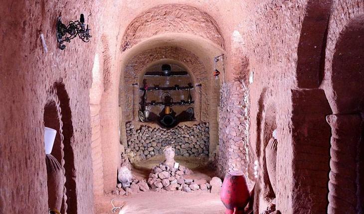 ساخت این غار زیرزمینی در ارمنستان 23 سال طول کشیده است
