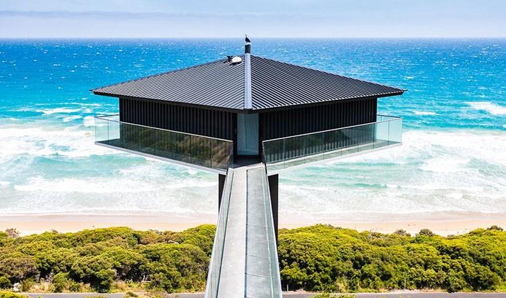 پل هاوس ( the Pole House )، اقامتگاهی  بین زمین و آسمان در استرالیا