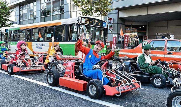 """""""سوپر ماریو"""" به خیابان های توکیو می آید """