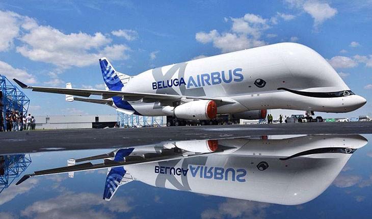 هواپیمای جدید ایرباس شبیه به یک نهنگ طراحی شده است 