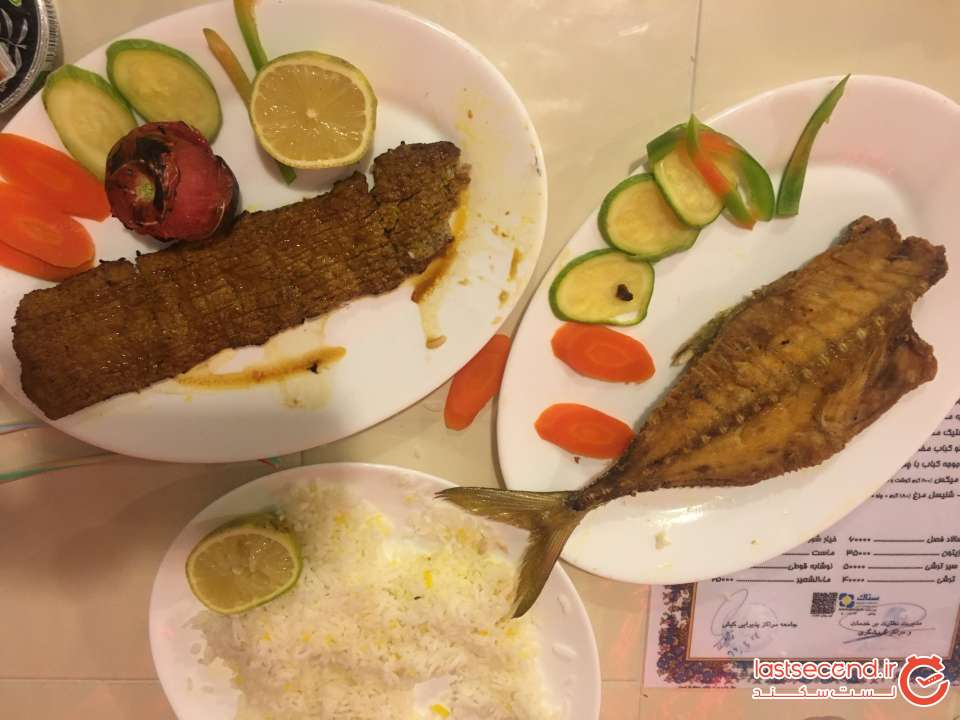 رستوران عمو اکبر کیش