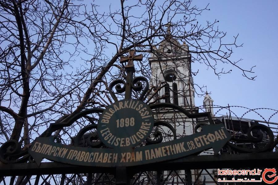 کلیسای سنت استفان استانبول