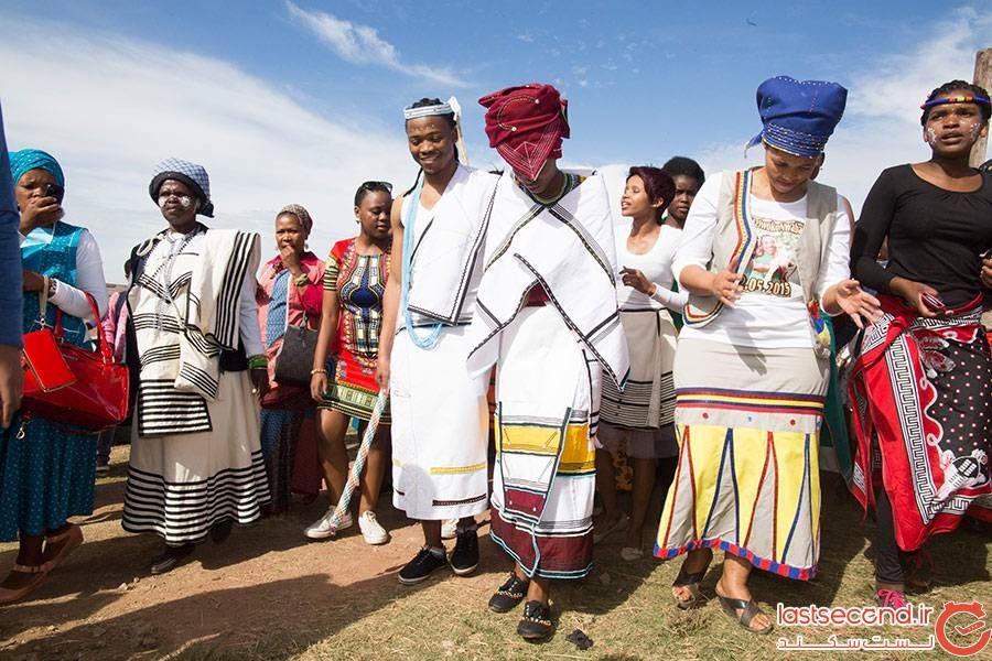رسم عروسی در آفریقای جنوبی