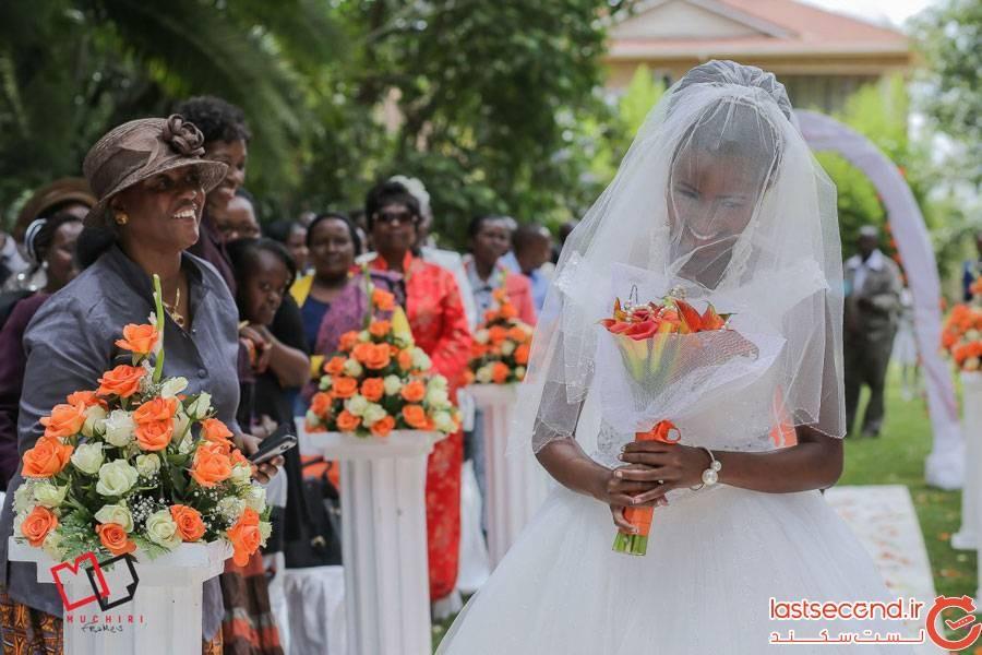 رسم عروسی در کنیا