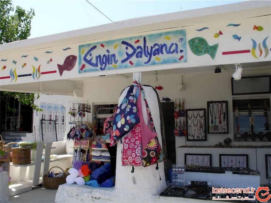 بهترین مکان برای خرید سوغاتی در بدروم
