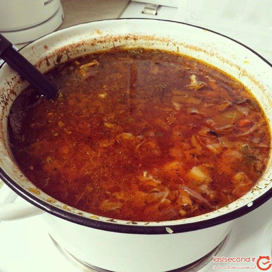 سوپ برش ارمنی