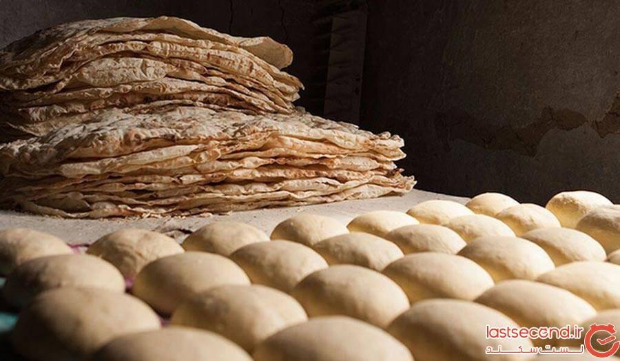 نان لواش ارمنی