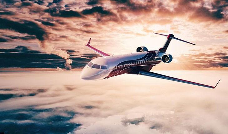 این هواپیمای جت به لوکس ترین شکل ممکن طراحی شده است