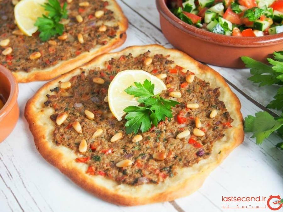 لحم عجین – پیتزای ارمنی (Lahmacun – The Armenian pizza)