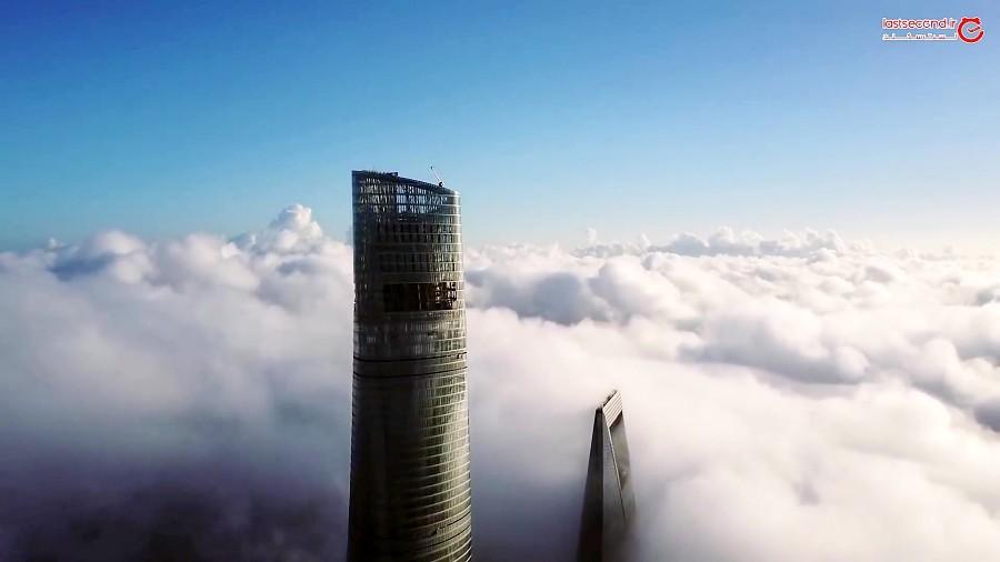 برج شانگهای بلندترین آسمان خراش چین